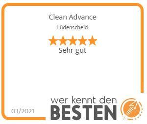 Wer kennt die beste Gebäudereinigung in Lüdenscheid? - Cleanadvance